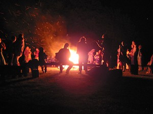 Night fire 300px